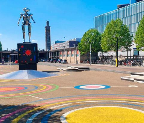 Stationsplein Enschede